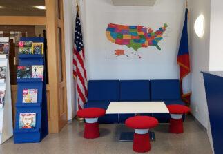 fotografie oddělení American Corner