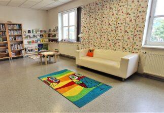 zóna pro dětské čtenáře