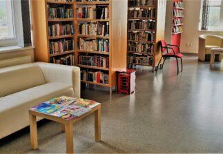 místo pro studium knih