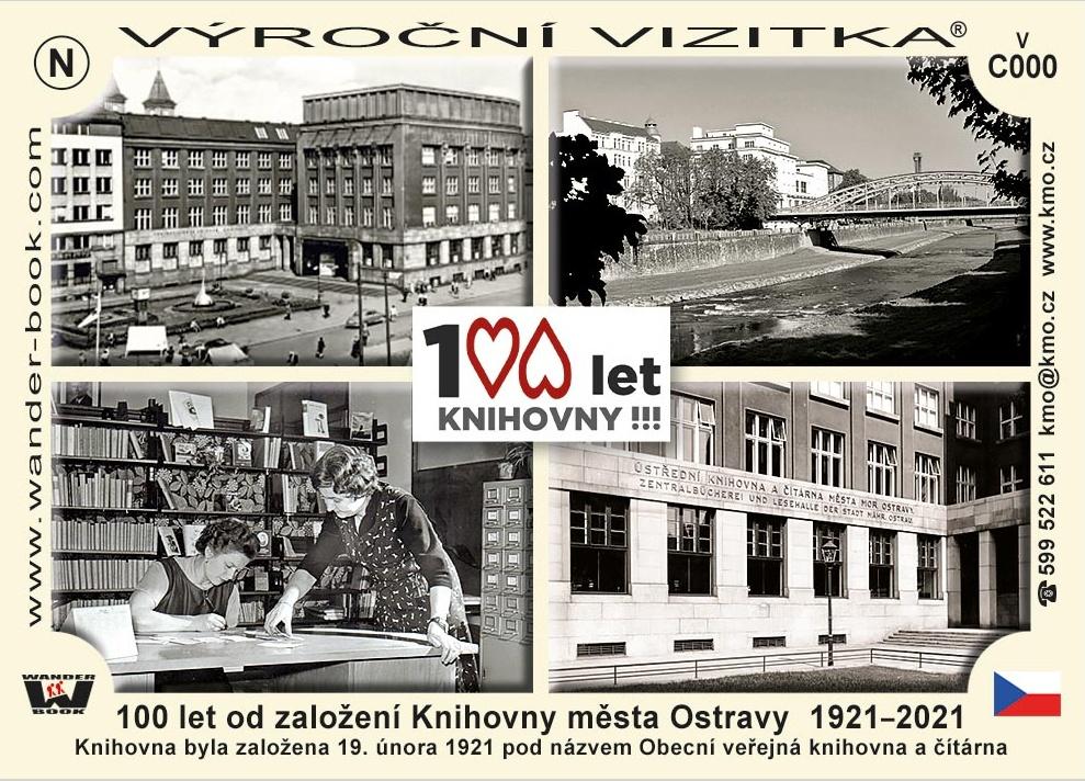 Vizitka ke sto letům knihovny