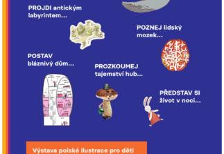 Listuj světem: výstava polské knižní ilustrace pro děti včeských překladech