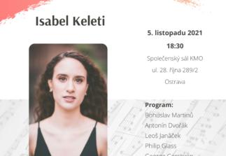 Klavírní recitál Isabel Keleti